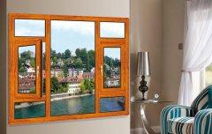 威德森木纹系统窗