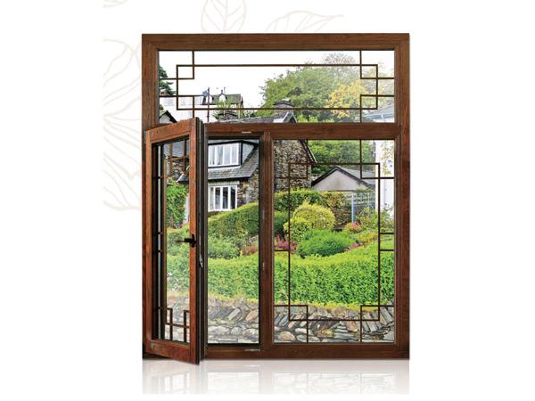 90铝包木系统窗